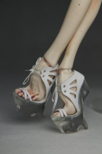 PashaPasha Original shoes - Transparent Wedges